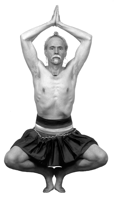 Vajra posture: ready position